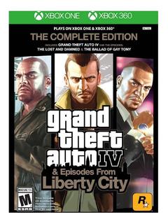 Grand Theft Auto Iv Gta 4 Xbox One Xbox 360 Fisico Nuevo
