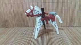 Lote 5141 - Cavalo Branco E Cinza - Montarias Do Velho Oeste