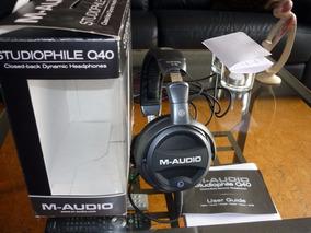 M-audio Studiophile Q40 Fone Monitor De Stúdio