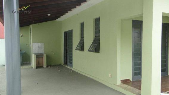 Casa Com 2 Dormitórios Para Alugar, 100 M² Por R$ 700,00/mês - Jardim Centenário - Mogi Guaçu/sp - Ca0822