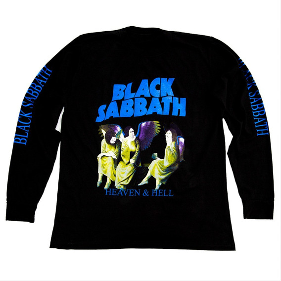 Remera Mangas Largas Black Sabbath - Ozzy Osbourne