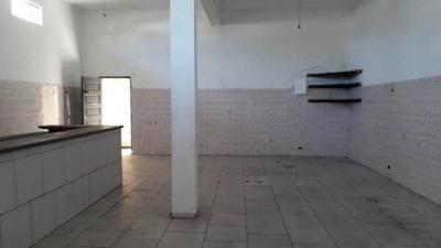 Casa Com Salão Comercial Em Avenida No Gaivota Itanhaém Sp