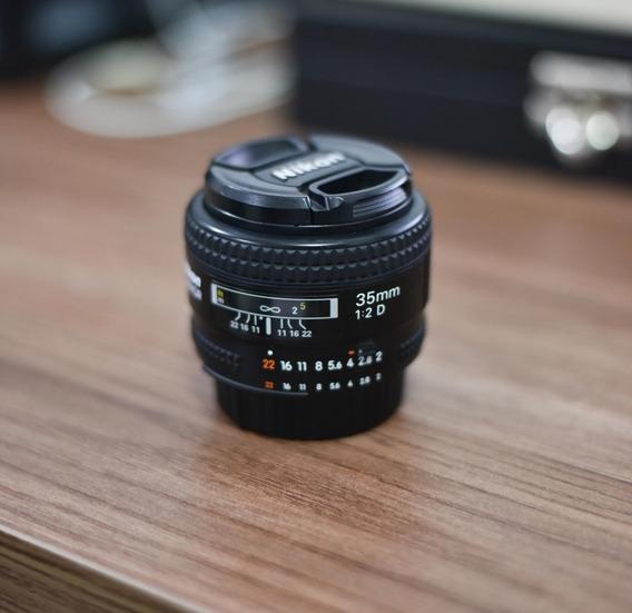 Lente Nikon 35mm F/2d Perfeita!