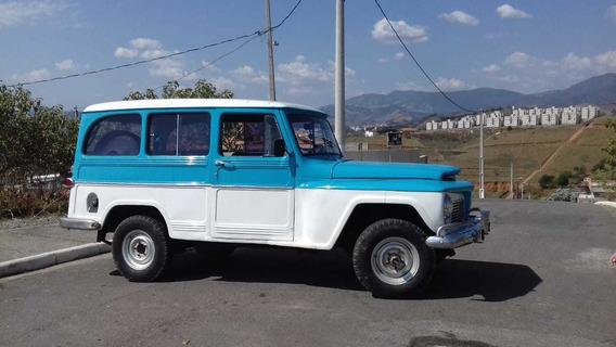 Rural Ford Willys 4x4 Com Reduzida E Dh 1971 (jeep)