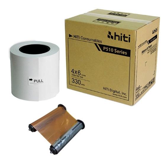 Papel 10x15 Para Impressora Hiti P510