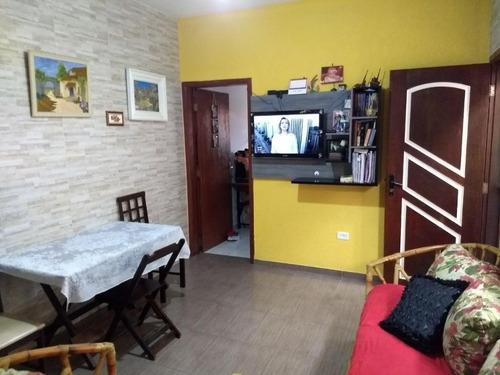 Casa Em Balneário Gaivota, Itanhaém/sp De 71m² 2 Quartos À Venda Por R$ 220.000,00 - Ca600522
