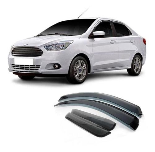 Calha De Chuva Ford Ka Sedan 2014 A 2020 Defletor 4 Portas