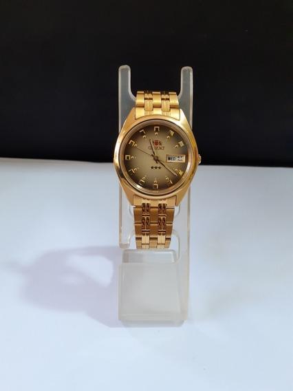 Reloj Orient Automático Dorado Original