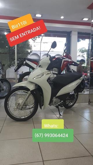 Biz110 Honda Moto 0km - Para Campo Grande Ms. Entrada Zero