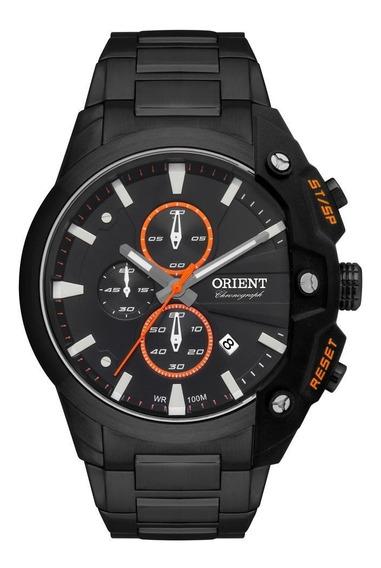 Relógio Orient Masculino Cronógrafo Preto Mpssc015 P1px