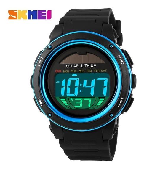 Relógio Solar Feminino Esportivo Skmei 1096 Frete Grátis