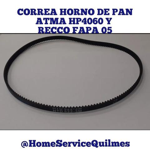 Correa Horno De Pan Atma Hp4060 Y Recco Fapa05 522-3m