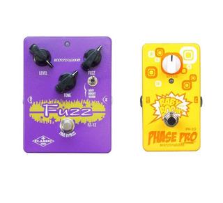 Set Pedales Biyang Fz12 Fuzz + Ph10 Phaser