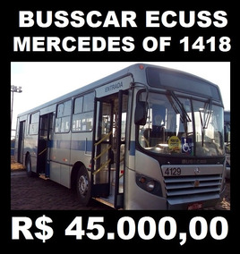 Busscar Ecuss - Mercedes Of 1418 Curto