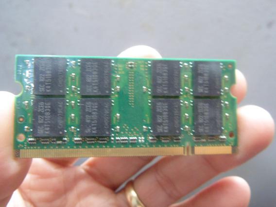 Memória P O Note Dell Vostro 1510 Samsung 1gb 667 Ddr2