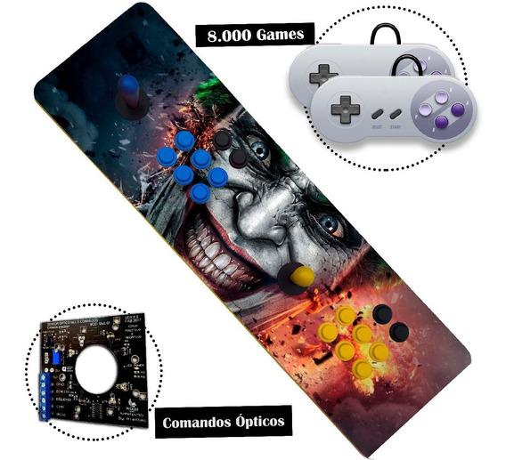 Controle Arcade - Fliperama Portátil Duplo Óptico Aegir 32 !