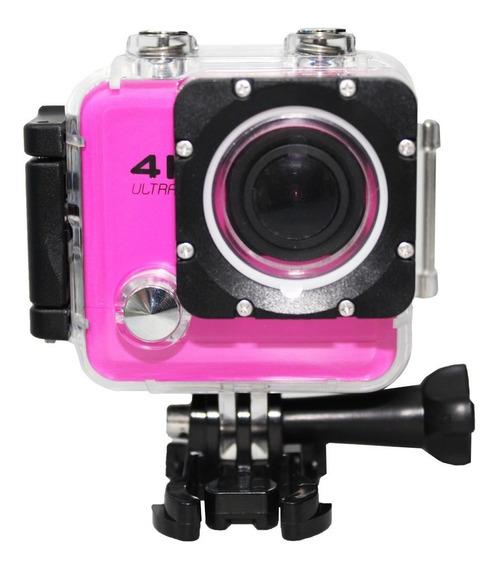 Câmera Action Go Cam Pro Extra Hd 4k 2.0 Lcd Sport Wi-fi
