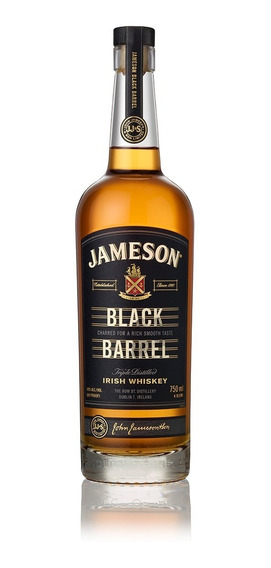 Jameson Black Barrel Whisky Irlandés Botella De 750 Ml