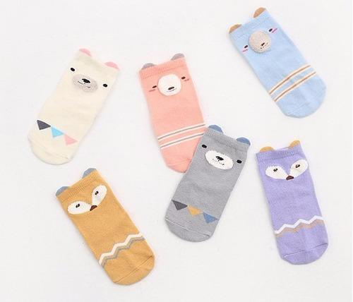 Affe 5/pares calcetines de beb/é Ni/ños Ni/ñas Cute corte bajo calcetines de algod/ón 3-5 years