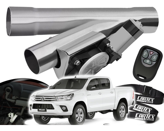 Difusor De Escapamento Esportivo Cromado Toyota Hilux
