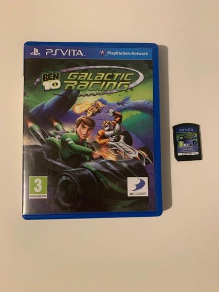 Ben 10 Galactic Racing - Ps Vita - Original