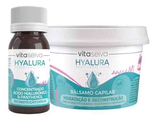 Imagem 1 de 7 de Kit Hidratação E Nutrição Concentrada Hyalura Vita Seiva
