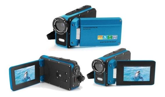 Câmera Filmadora Power Pack A Prova De Água