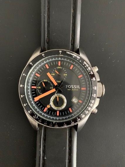 Relógio Fóssil Cronografo - Ch 2647 10atm