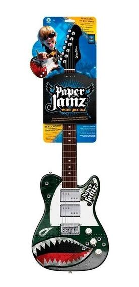 Paper Jamz Guitarra Sin Cuerdas Varios Modelos 6201