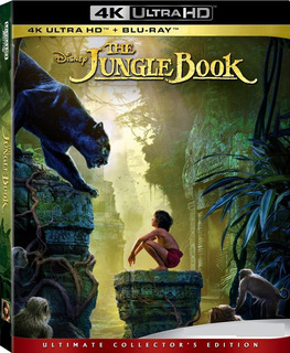 4k Uhd + Blu-ray The Jungle Book / El Libro De La Selva 2016