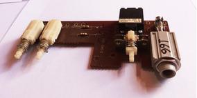 Chave Power E Seleção De Saída Do Amplificador Gradiente 166