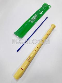 Flauta Herball Dulce Soprano C Original 33cm Incluye Funda