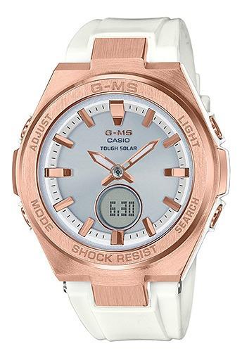 Reloj Casio Msg-s200g-7acr Para Dama Correa De Resina