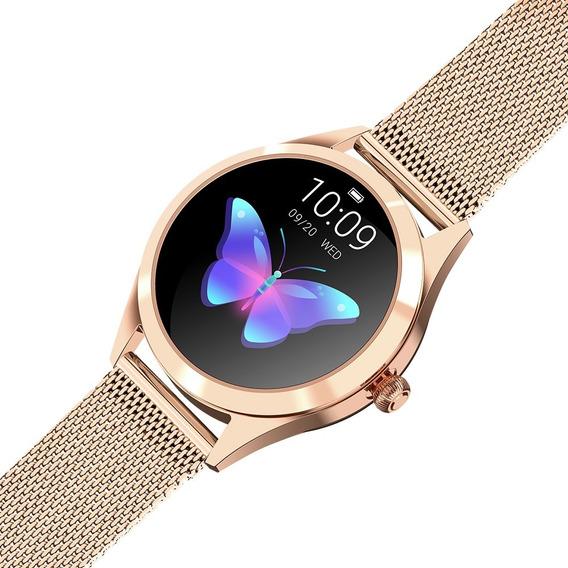 Reloj Inteligente King Wear Kw10 Mujer Smartwatch Elegante