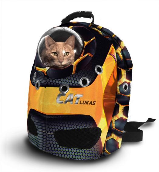Maleta Morral Guacal Para Gatos Y Mascotas