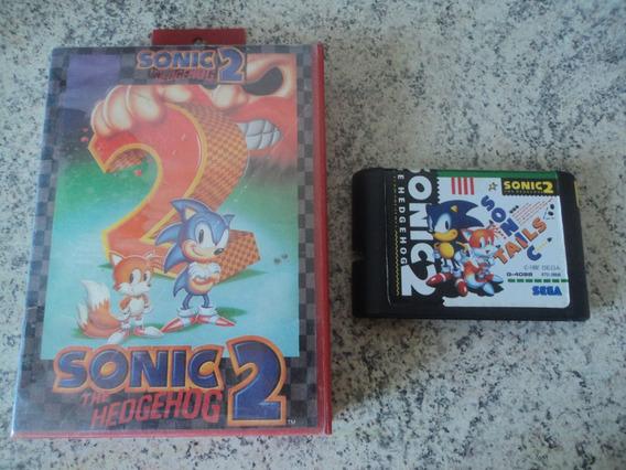 Fita Para Mega Drive Sonic 2 Fase / Aventura