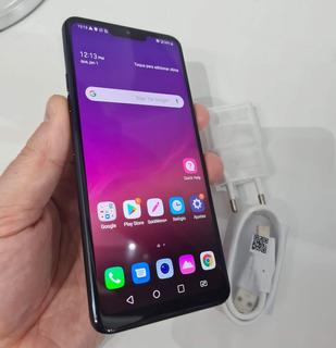 Smartphone LG G7 Thinq 64gb Aurora Black - Conservado!