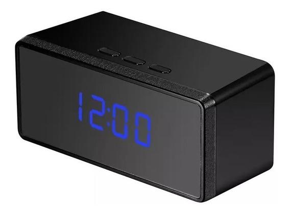 Reloj Espia Despertador Fullhd Vision Nocturna Max 32gb Foto, Video Con Audio Detector No Necesita Wifi Internet De Gogo