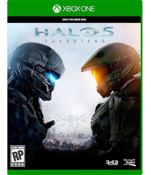 Jogo Xbox One Halo 5: Guardians - Novo - Lacrado