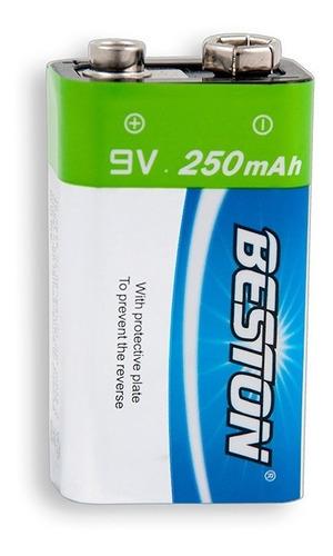 Batería Recargable 9v 250mah