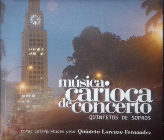 Cd Música Carioca De Concerto (quinteto De Sopro).
