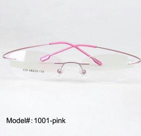 Lentes Armazón De Titanio Memoria Flexible Ultraligero 8 Gr