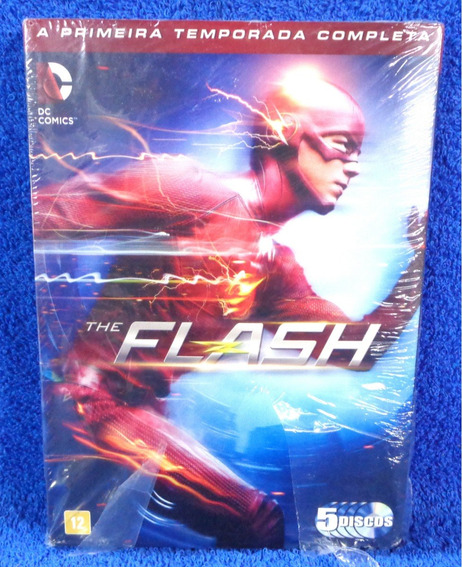 Dvd The Flash 1° Temporada 5 Discos Lacrado Original