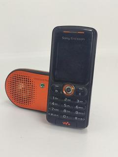 Sony Ericsson W200 Negro Con Bocina Accesorios Para Reparar