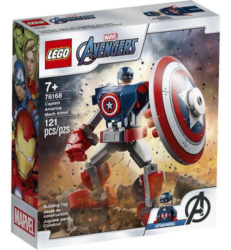 Lego Super Heroes 76168 Armadura Del Capitán América