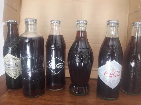 Botellas Coca Cola Colección 120 Años
