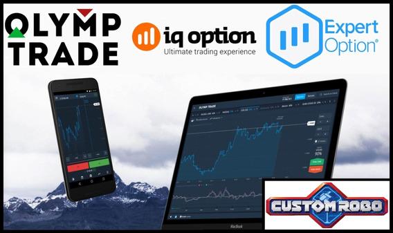 Robô Iq Option Olymp Expert Trade Binárias 2019 Promo Hoje!!