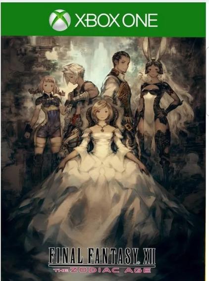 Final Fantasy Xii The Zodiac Age Xbox One Midia Digital
