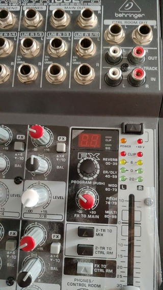 Mesa Behringer - Mod. 1002 Fx - 4canais