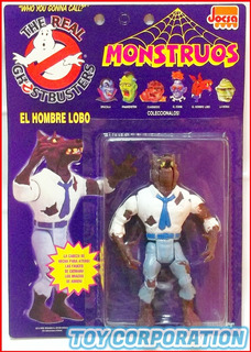 The Real Ghostbusters Hombre Lobo Monstruos Moc 1992 Punched